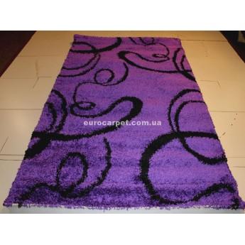 Фиолетовый Ковер SHAGGY GOLD 8952