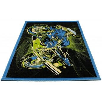 SUPER ELMAS 7958A BLACK/BLUE №1