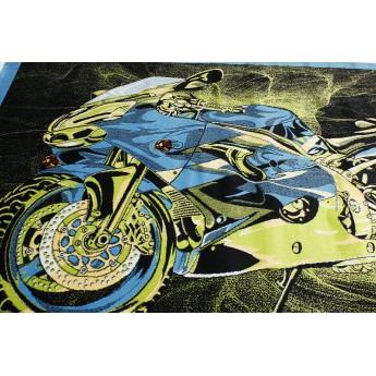 SUPER ELMAS 7958A BLACK/BLUE №3