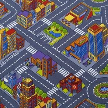 Детский ковролин BIG CITY 1 - фото №1